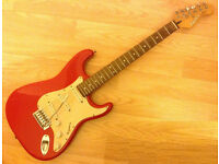 L@@K Crafter Cruiser Strat guitar , amplifier , like new and accessories £65 BARGAIN WOW