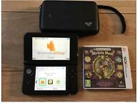 Nintendo 3DS XL Black with Game
