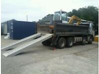 4,5 ton digger for hire also 8 wheeler tipper hire