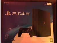 PlayStation 4 Pro boxed 1 TB