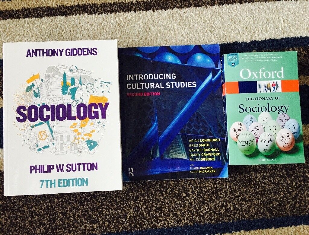 3 Sociology Books (Must have for uni students)