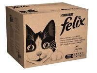 Felix Mixed Selection in Jelly & Gravy Cat Food Pouches 120 pk