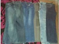 Ladies jeans size 12