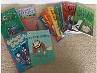 Dirty Bertie Book bundle The Worst Witch plus other books