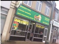 Pizza & Kebab Shop for sale, leasehold £39,000 any offers welcome