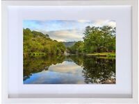 "Beautiful Framed Picture of OLD WEIR BRIDGE, Killarney, Kerry. Picture & Frame: 16.5"" x 12.5"""