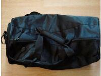 Black PPD Unisex Men Ladies Holdall Weekender Sports Gym Travel Duffle Bag.