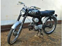 HONDA 50. 1967. CLASSIC SPORTS MOPED