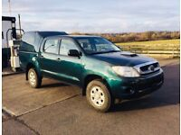 60 Toyota HiLux HL2 Double Cab Pick Up