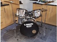 CANNON ADDER 4 SHELL DRUM SET (SILVER)