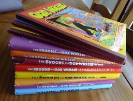 Oor Wullie & Broons books