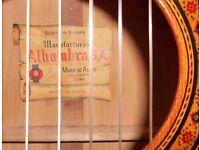 ALHAMBRA CLASSICAL/FLAMENCO GUITAR
