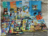 Disney Club Penguin bundle of magazines and activity books.