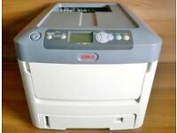 Oki ES7411 Colour Laser Printer - Duplex & Network - Leads & Toners