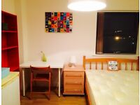 BRAND NEW LOVELY DOUBLE ROOM SINGLE USE HABITACION DOBLE, 5 MNTS WALK BROMLEY-BY-BOW, RIVERSIDE, R28