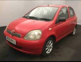TOYOTA YARIS 1.0L 5DOOR 1 OWNER 18 SERVICES SPORTY EXHAUST HPI CLEAR EXCELLENT CONDITION