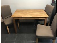 Urgent moving home sale! Ikea dinning table for 4. £150