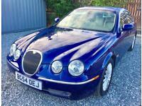 JAGUAR S-TYPE 2.7d V6 SE 4dr Auto - Low Mileage - Simply Beautiful - Top Spec (blue) 2005