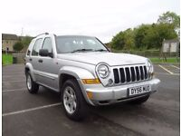 2006 56 JEEP CHEROKEE 2.8 CRD LIMITED FSH LONG MOT EXCELLENT CONDITION