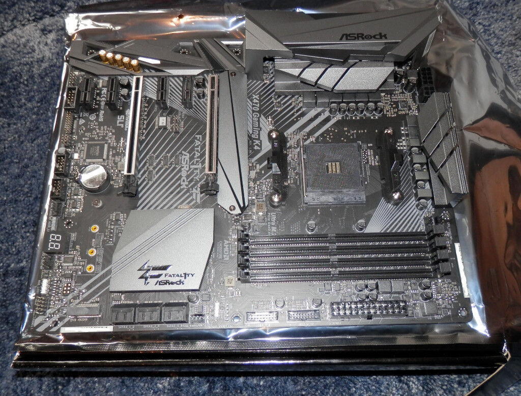 Asrock Fatal1ty X470 Gaming K4 AMD Ryzen AM4, DDR4, HDMI, USB 3 1  Motherboard | in Horsham, West Sussex | Gumtree