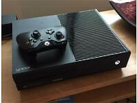 Xbox one console with 1 control