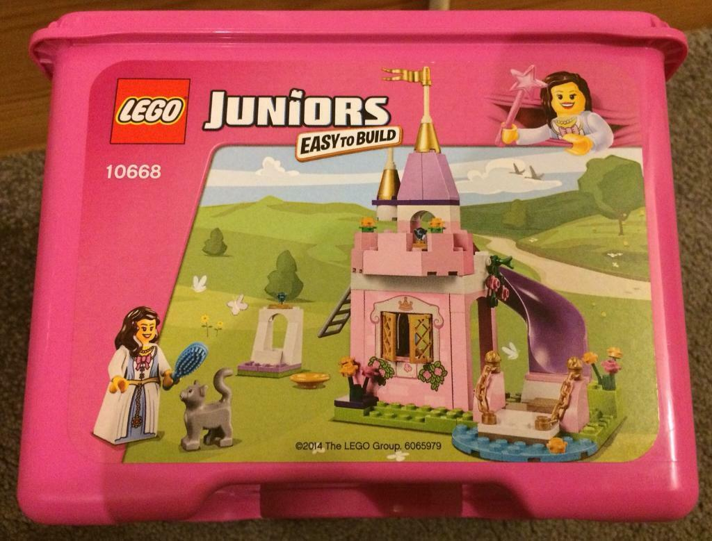 lego juniors princess play castle in leicester leicestershire