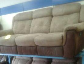 Brand newe lazy boy suede recliner