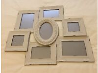 7 Aperture Shabby Chic Photo Frame