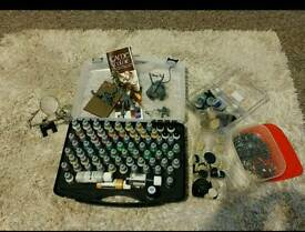 Vallejo 72 Game Colour Paint Set with Extras