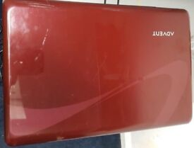 Red Advent Laptop, 15.6 inchs 500GB
