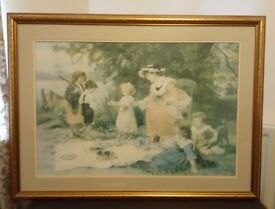 Large Framed Print by Artist Frederick Morgan