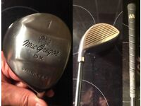Golf Club Graphite, 1 Wood (as new only used once)