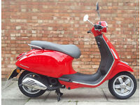 Piaggio VESPA PRIMAVERA 50 2T, Immaculate condition