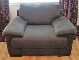 Large Cuddler Seat, Chocolate Brown
