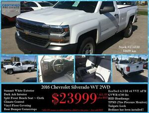 2016 Chevrolet Silverado 1500 WT ~ AWESOME WORK TRUCK ~ BEDLINER