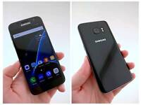 Samsung s7 black unlocked nearly new perfect condition