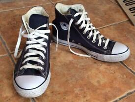 Genuine Brand New Dark Blue Converse High Tops