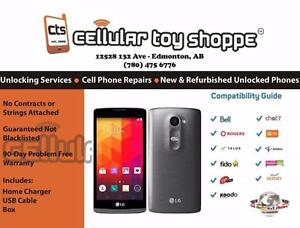 LG Leon 345 unlocked for all carriers (90 Day Warranty) - LIKE NEW