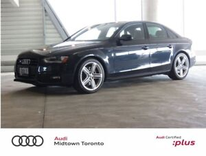 2015 Audi S4 3.0T Progressiv quattro w/ Black Optics+Xenons+BT