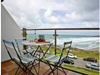 Holiday let over looking fistral beach cornwall Newquay
