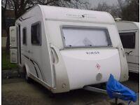 Rimor 4 berth touring caravan, plus awning and all equipment