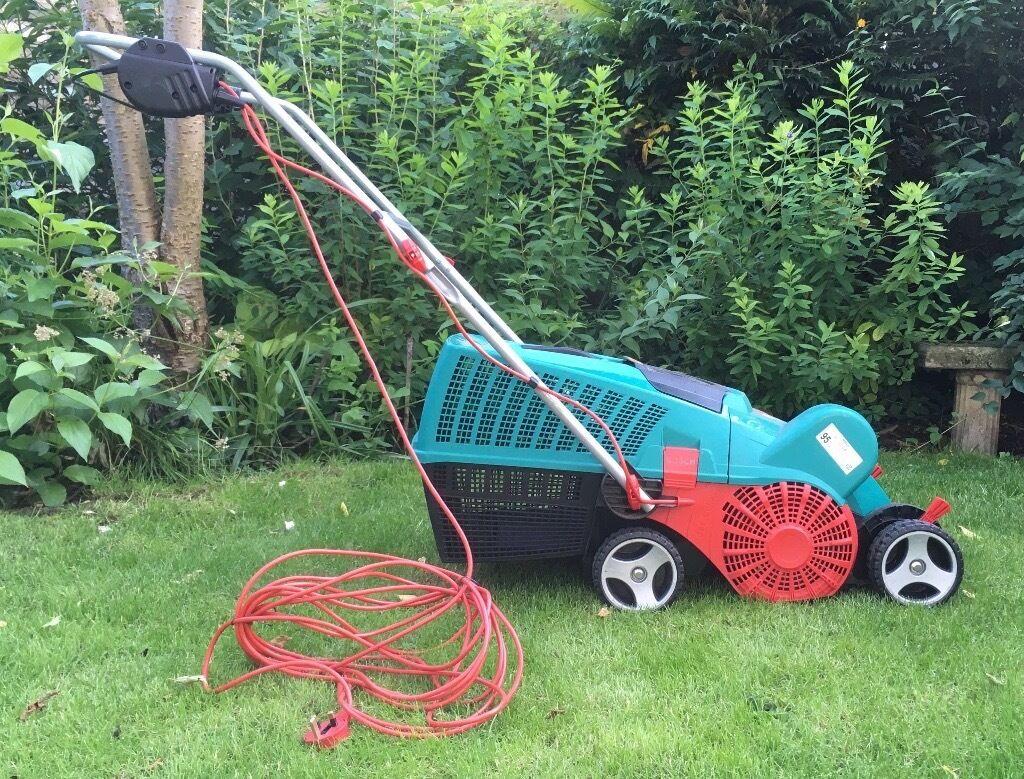bosch avr 1100 verticutter lawn raker scarifier in huntingdon cambridgeshire gumtree. Black Bedroom Furniture Sets. Home Design Ideas