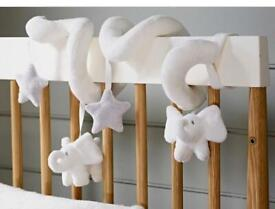 The White Company Cot Spiral (Spiral Indy Cot Toy) rrp £28