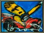 Herman Brood | Giclée: 'N Dag Uut | Afmeting: 90cm x 120cm