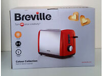 Breville Two Slice Toaster ( Red ) New.