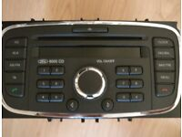 Ford 6000 CD Radio/CD Player from a Ford Focus . Full working order.