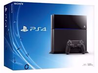 PS4 Black, Slim 500GB Brand New with extra's