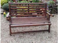 Wooden Folding Garden Bench