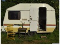 Vintage Alpine Sprite Ci Caravan