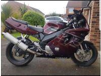 Yamaha fzr600 Foxeye Motorcycle